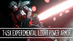 T-45x Experimental Light Power Armor
