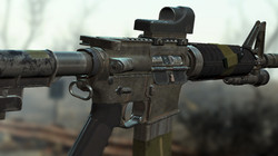 Wasteland Melody's Service Rifle