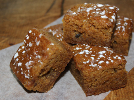 Pumpkin Golden Raisin Squares