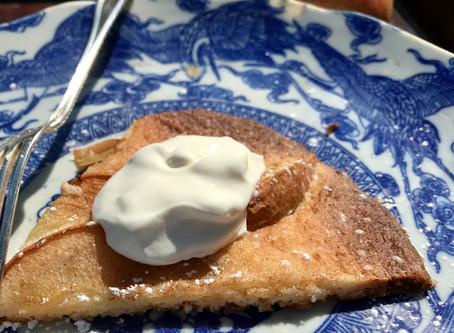 Pear Tart with Sorghum Crust