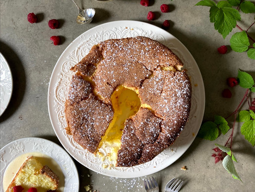 Fiori di Sicilia Sponge Cake with Poured Custard