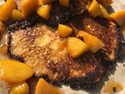Brown Sugar Peach Sauce