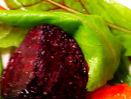 Roasted Beets, Carrots and Buttercrunch Lettuce