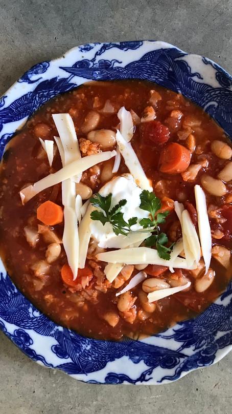 Harissa Cauliflower Soup