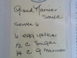 Grand Marnier Sauce