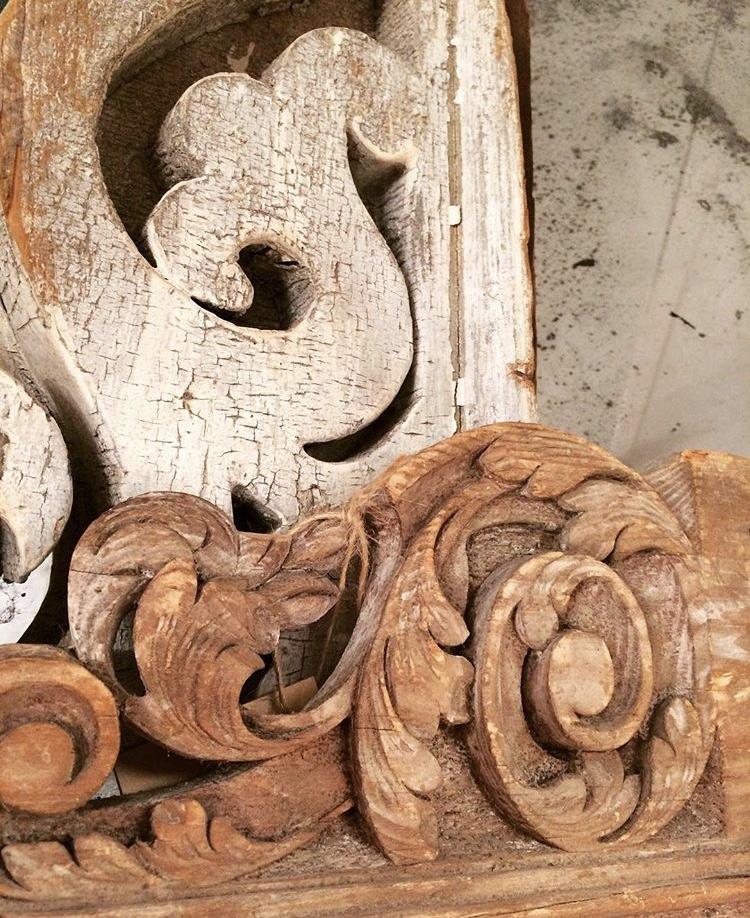 vintage wood hove