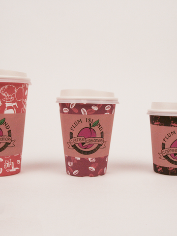 Plum Island Coffee Cup Sleeves