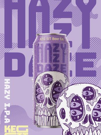 Hazy Daze Poster