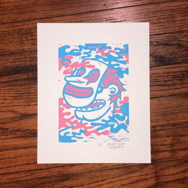 2 Color Block Print