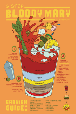 Bloody Mary Infographic