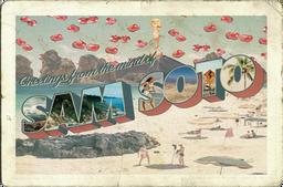 Sam Soto Merch Postcard