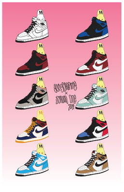 Jordan 1 Poster