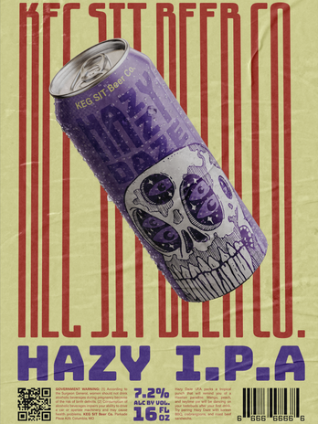 Hazy I.P.A. Poster
