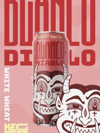 Blanco Diablo Poster