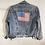 Thumbnail: LAVintage USA Flag Denim Jacket