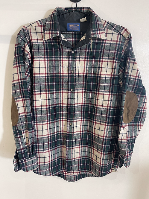 Pendleton Wool Flannel w/ Elbow Patches