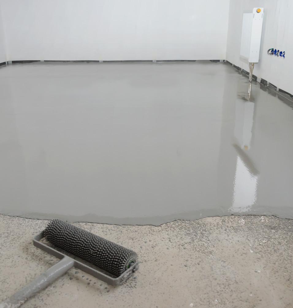 Concrete Self-Leveling