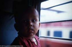 電車の子供