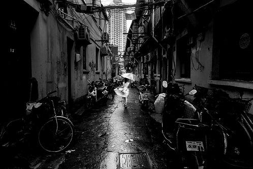 上海老街 跳舞
