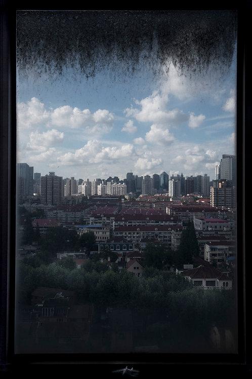 窓越しの上海
