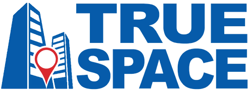 Logo-TRUE-Space-Pinpoint-Blue-Red-Text-G