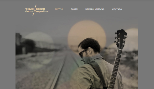 Música website templates – Compositor