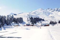 courchevel area de ski