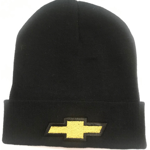 Embroidered beanie with Chevy bowtie 2b4eec2d5aa