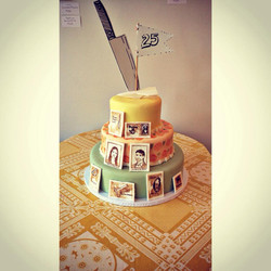 wes theme wedding cake cincinnati