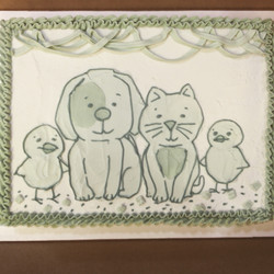 baby animals shower