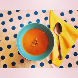 zesty pumpkin soup