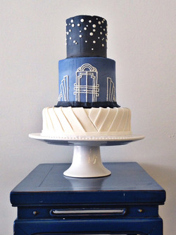 Cincinnati Wedding cake heather