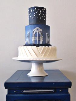Cincinnati Wedding cake heather