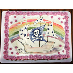 pirate rainbow birthday cake cincinnati