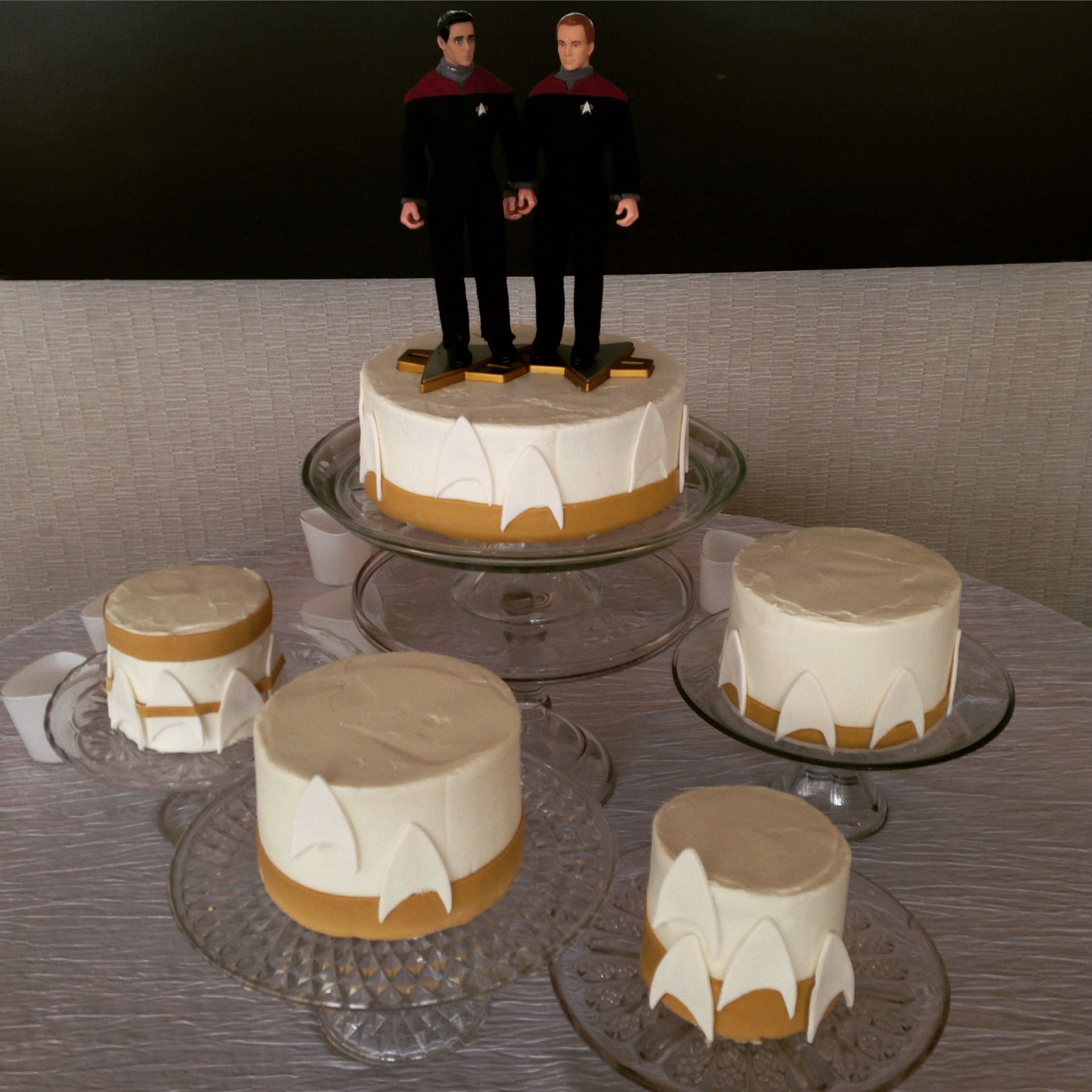 trekkie wedding cake cincinnati