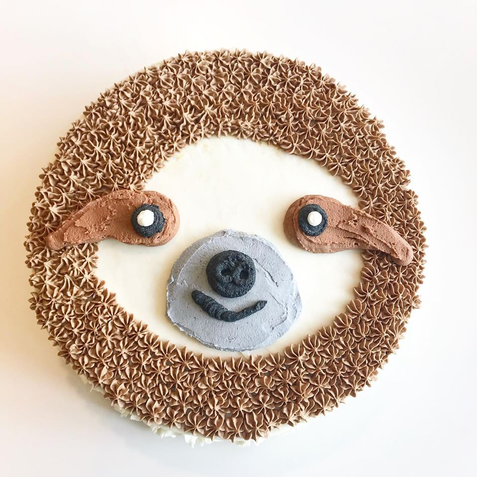 Sloth  decoration $10