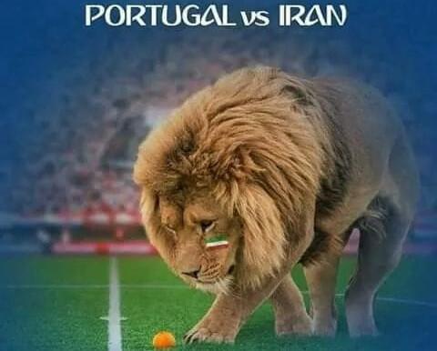 Portugal vs Iran...