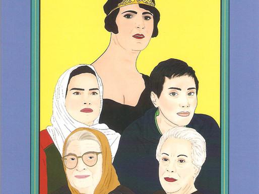 """Cinquanta donne iraniane che hanno influenzato il proprio mondo / """"50 Inspiring Iranian Women"""""""