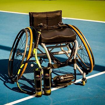 tennis wheelchair equipment