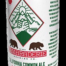 Camaraderie  California Common Ale