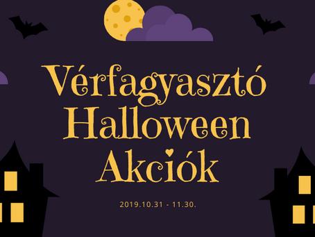Vérfagyasztó Halloween Akciók
