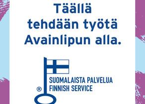 Suomalaista työtä jo vuodesta 1977