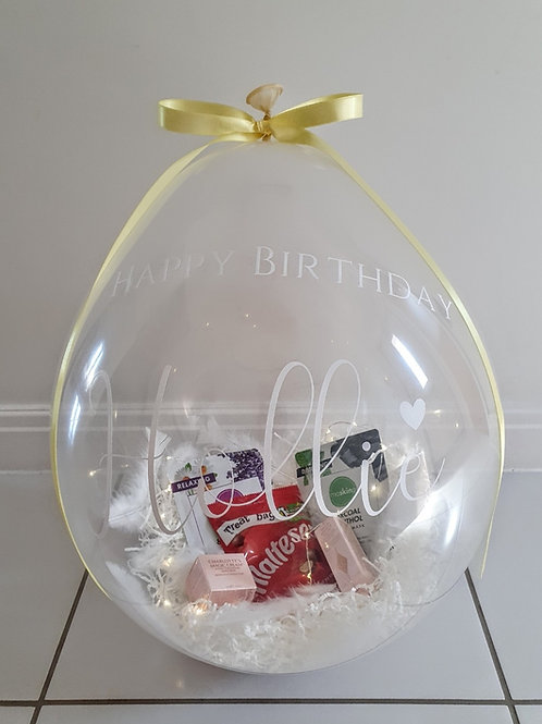Add your own gifts - Luxe Hamper Balloon