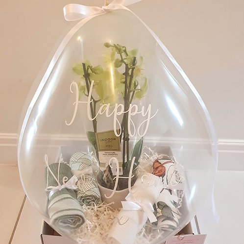 Luxe New Home Hamper Gift Balloon