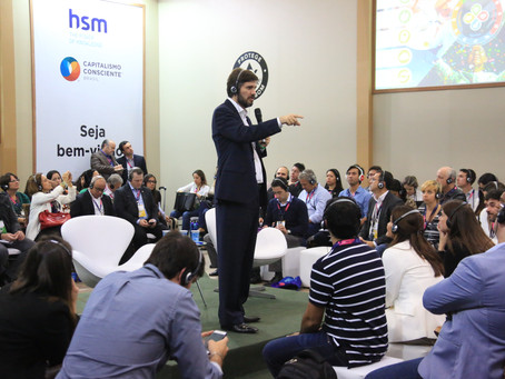 Auditório Capitalismo Consciente - HSM EXPO 2017 - 3º dia
