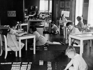 A origem do Sistema Montessori
