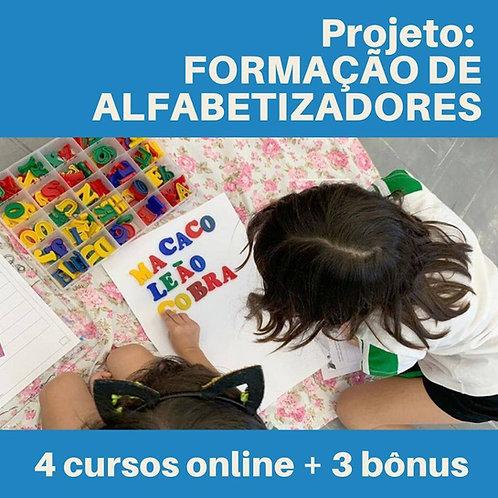 Projeto: FORMAÇÃO DE ALFABETIZADORES