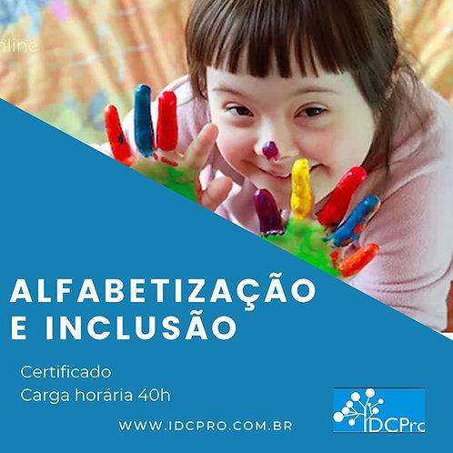 Curso online: ALFABETIZAÇÃO E INCLUSÃO