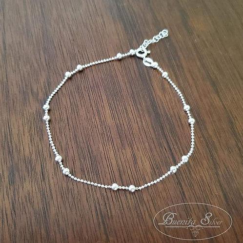"""10"""" Sterling Silver Anklet Bracelet"""