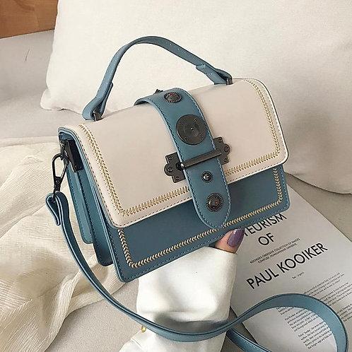 Elegant Rivet Shoulder Messenger Bag